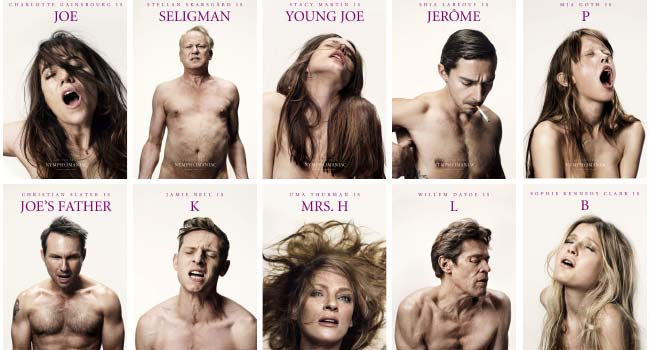 14 Sexy Character Posters for Lars von Trier's Nymphomaniac