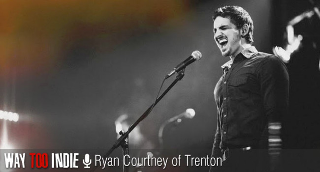 Ryan Courtney shares what the band name Trenton means and where he recorded his latest EP Interview