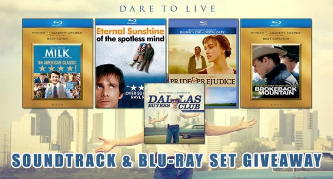 Giveaway: Dallas Buyers Club Soundtrack & Focus Features Blu-ray set News