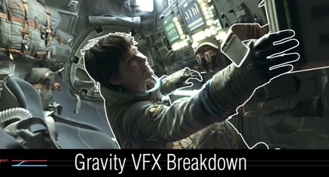 'Gravity' VFX Breakdown Showcases 3-D Convergence