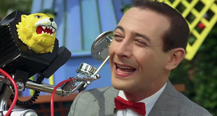 Pee-wee's Big Adventure movie