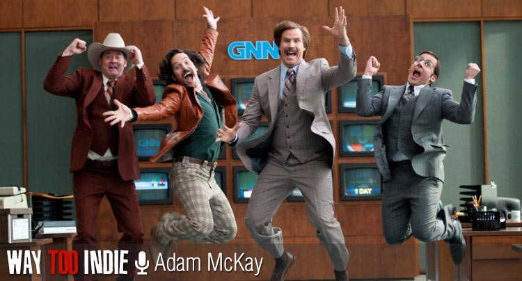Anchorman 2's Adam McKay Talks Filming Enough Funny For Two Movies
