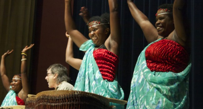 Rwandan Drummers Rock California, Spread 'Sweet Dreams'