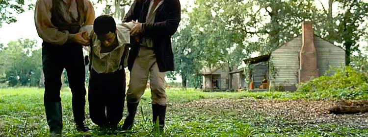The hanging in 12 Years a Slave