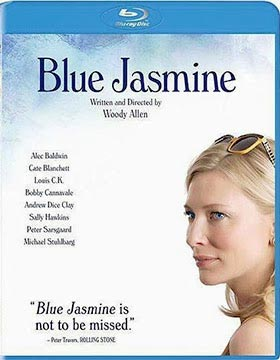 Blue Jasmine Blu-ray cover