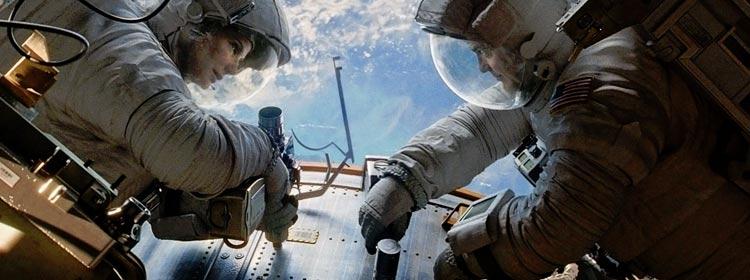 Opening scene of Gravity