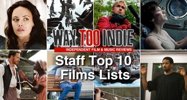 Staff Top 10 Lists For 2013