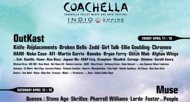 Coachella 2014 Lineup Revealed