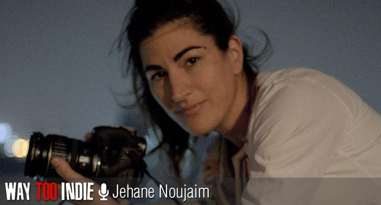 Jehane Noujaim and Karim Amer Rally at 'The Square'
