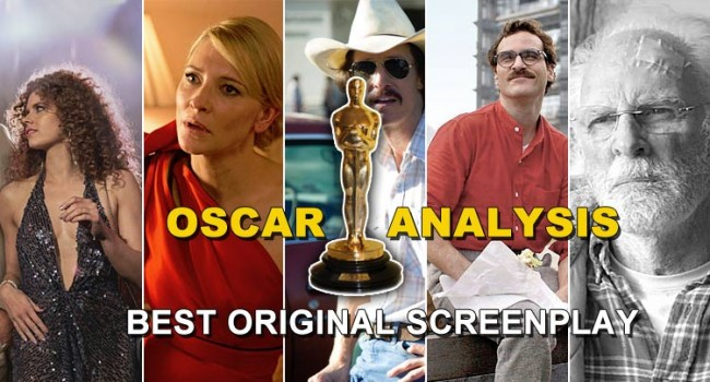 Oscar Analysis 2014: Best Original Screenplay Awards