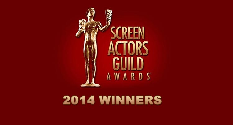 2014 Screen Actors Guild Award Winners Awards