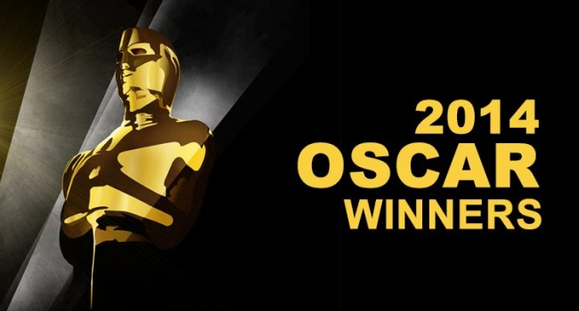 2014 Oscar Winners Awards