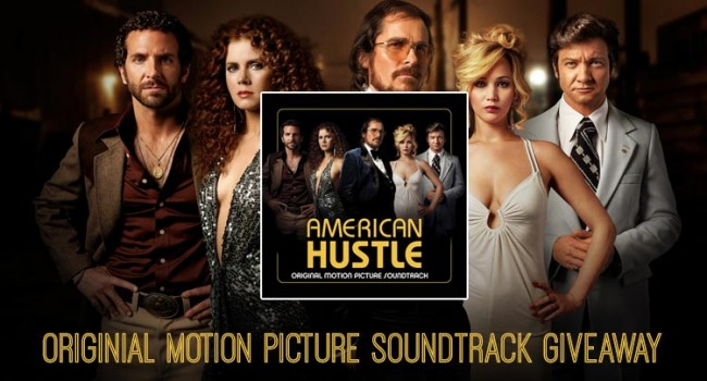 Giveaway: American Hustle Original Soundtrack