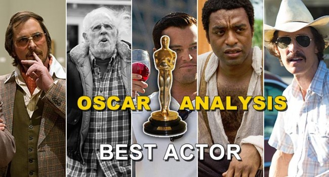 Oscar Analysis 2014: Best Actor