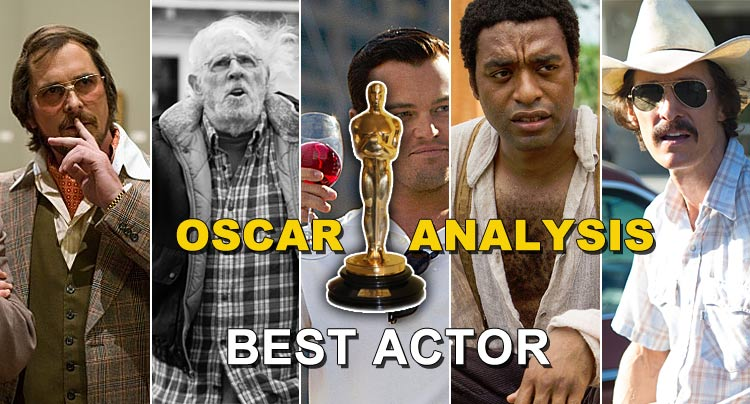 Oscar Analysis 2014: Best Actor Awards