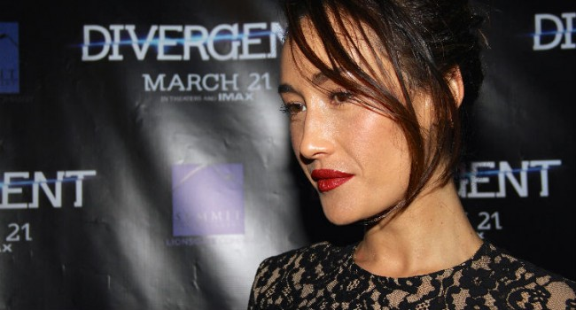 Maggie Q and Mekhi Phifer Attend Divergent SF Premiere