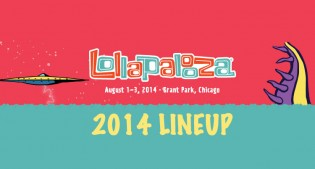 Lollapalooza 2014 Lineup Revealed
