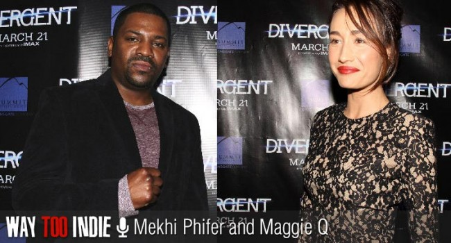 Mekhi Phfifer and Maggie Q Talk 'Divergent', Breaking Stereotypes Interview
