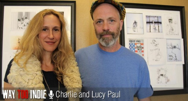 Charlie and Lucy Paul Talk Ralph Steadman, 'For No Good Reason'