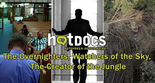 Hot Docs 2014: The Overnighters, Watchers of the Sky, The Creator of the Jungle