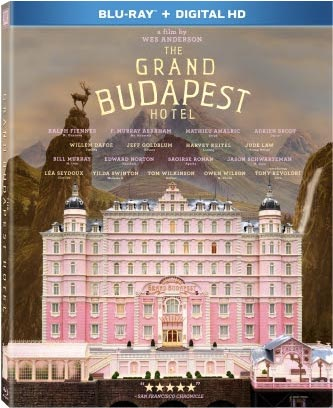 The Grand Budapest Hotel Blu-ray Cover