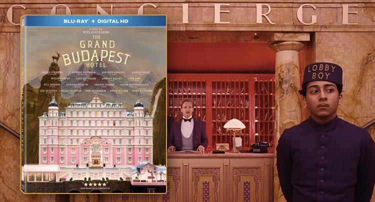 The Grand Budapest Hotel releases on Blu-ray & DVD June 17th News
