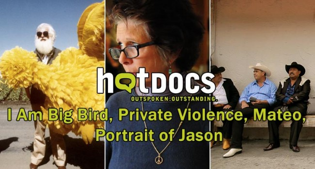 Hot Docs 2014: I Am Big Bird, Private Violence, Mateo, Portrait of Jason