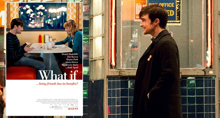 Photos and Poster From Daniel Radcliffe & Zoe Kazan Film 'What If""