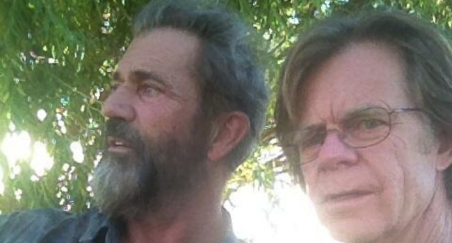 William H. Macy Reveals on Twitter He's Joined Mel Gibson Film