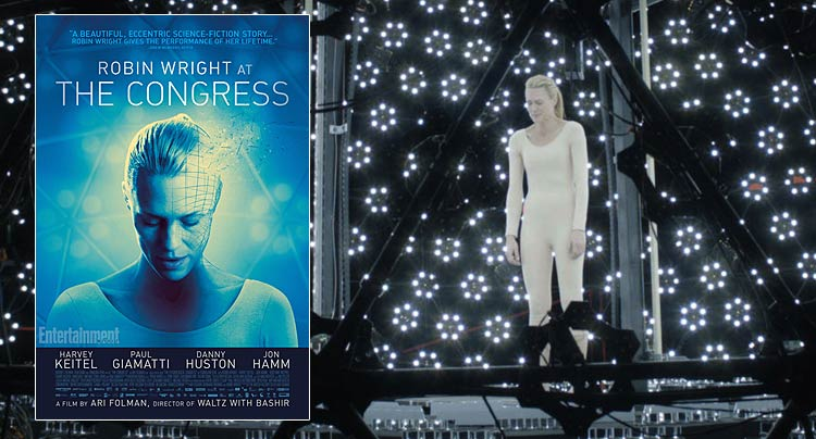 Trailer and Poster for Ari Folman's 'The Congress'