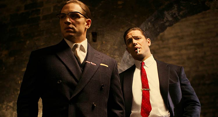 First Image: Tom Hardy Plays Dual Roles in 'Legend'