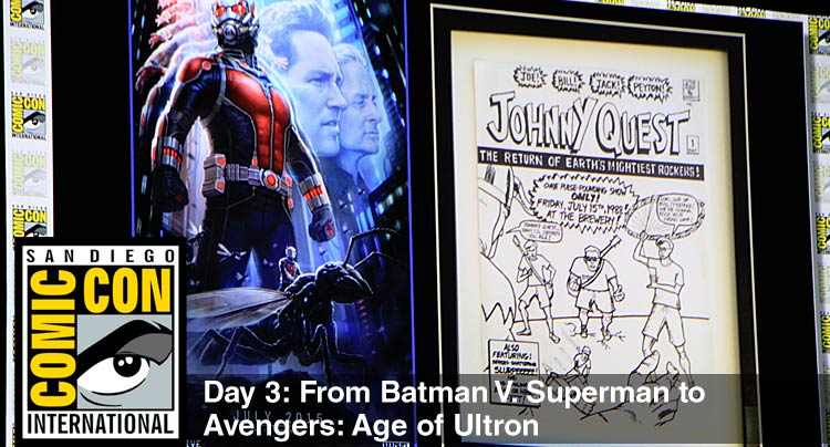 Comic-Con 2014 Day 3: From Batman V. Superman to Avengers: Age of Ultron News