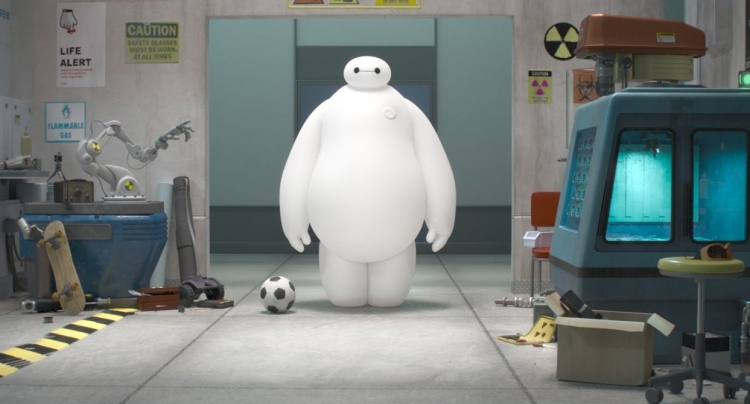 First Look at a Balloon Robot in Disney-Marvel's 'Big Hero 6'