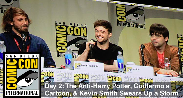 Comic-Con 2014 Day 2: The Anti-Harry Potter, Guillermo's Cartoon, & Kevin Smith Swears Up a Storm