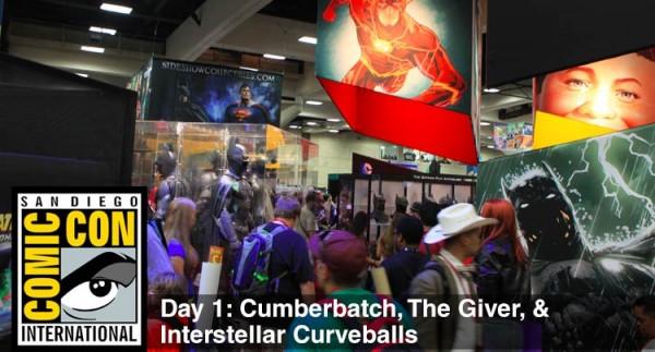 Comic-Con 2014 Day 1: Cumberbatch, The Giver, & Interstellar Curveballs