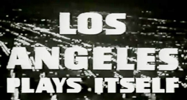 "Difficult to See Doc ""LOS ANGELES PLAYS ITSELF"" Finally Set for Home Distribution"