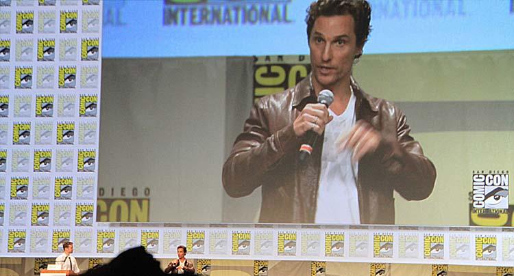 Matthew McConaughey Comic-con