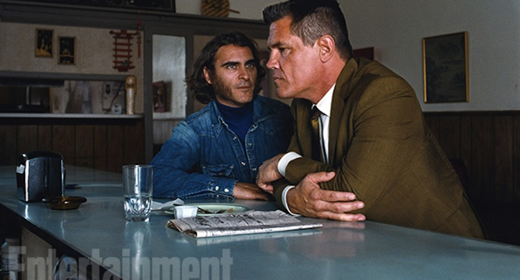 First Image of Phoenix & Brolin in Paul Thomas Anderson's 'Inherent Vice'