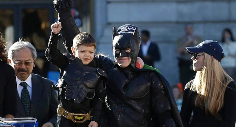 Super Adorable Super-kid Doc 'Batkid Begins' Gets A Trailer