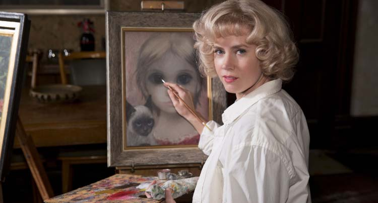 Amy Adams v. Christolph Waltz in Tim Burton's 'Big Eyes' Trailer News
