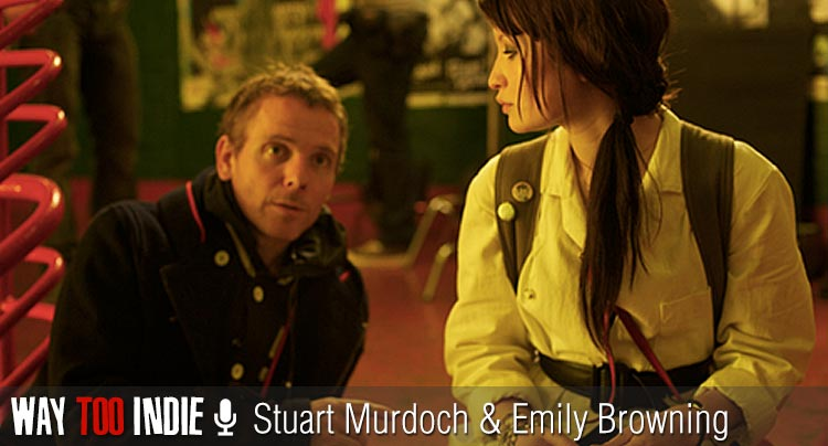 "'God Help The Girl' director Stuart Murdoch & star Emily Browning Had a ""Skype-Off"""
