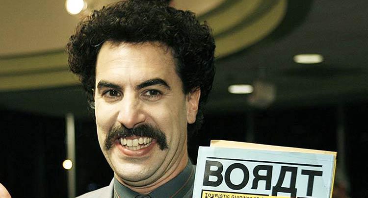 Borat moustache