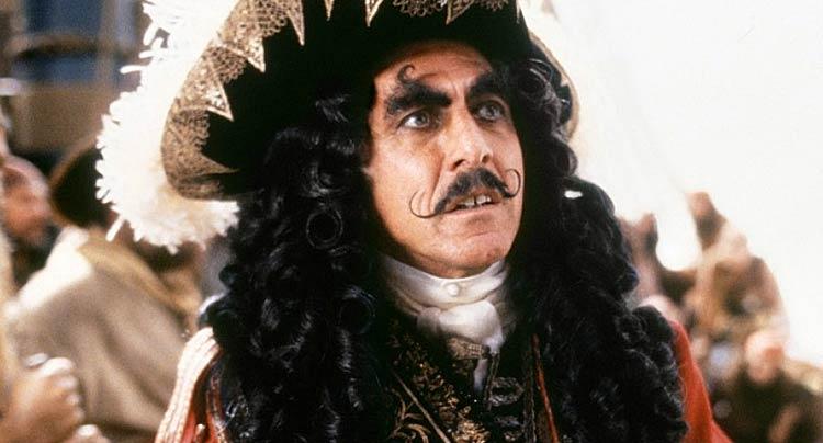 Dustin Hoffman Hook moustache