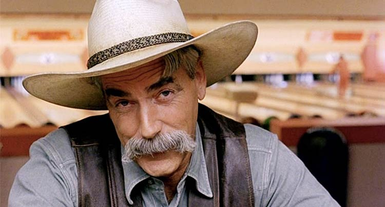 Sam Elliott Big Lebowski moustache