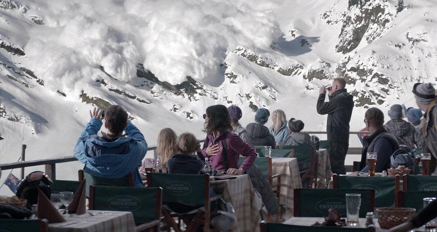 Force Majeuree Avalanche scene
