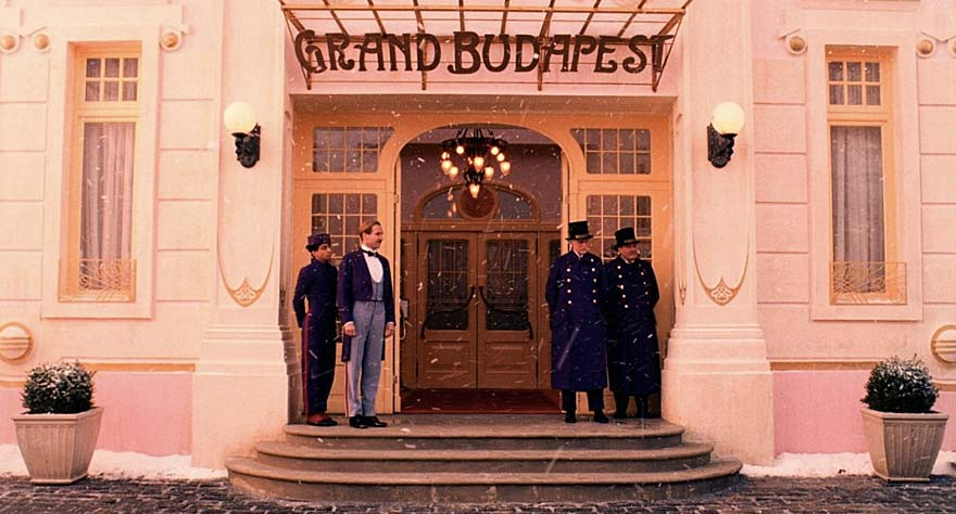 The Grand Budapest Hotel movie