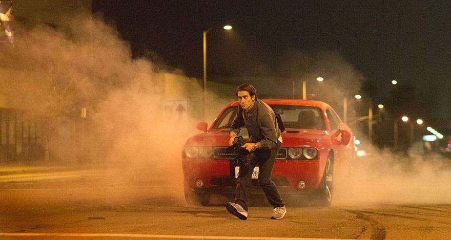 Nightcrawler car chase scene