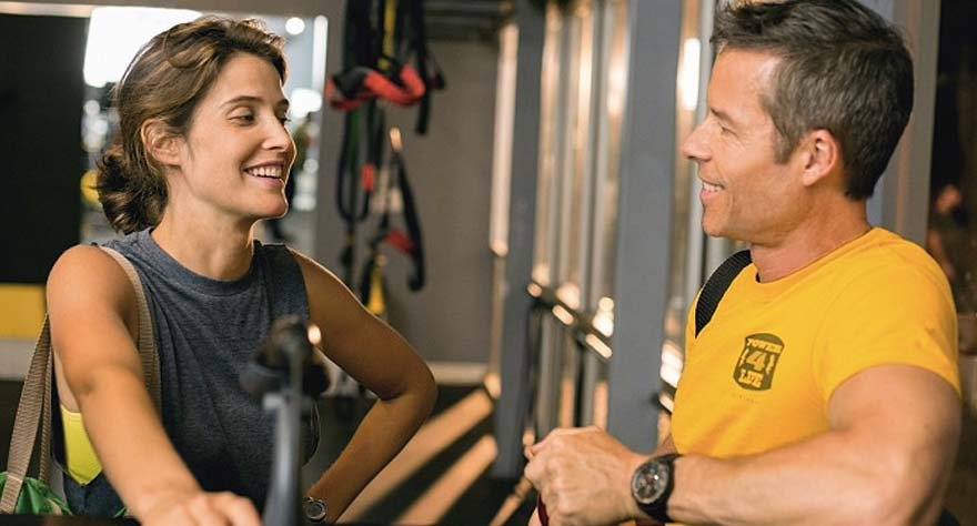 Guy Pearce and Cobie Smulders get 'Results'