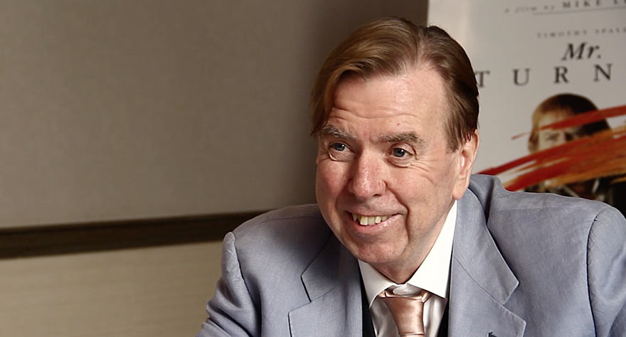 Watch: Timothy Spall On Becoming 'Mr. Turner'
