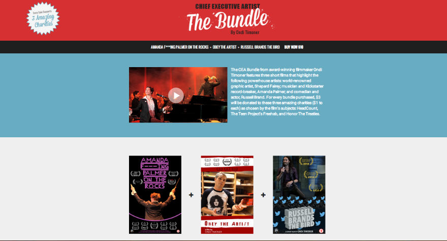 Chief Executive Artist - The Bundle